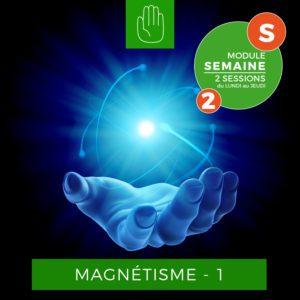 Centre Eden Formation Magnétisme Semaine 1-2