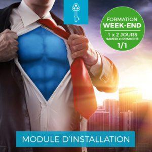 Centre Eden Formation Module Installation Week-End 1-1