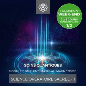 Centre Eden Formation Science Opératoire Sacrée Week-End 1-2