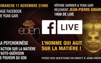 Facebook Live : Dimanche 11 novembre 2018
