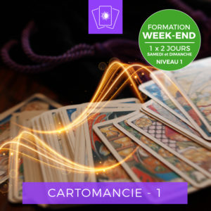 Centre Eden Formation Cartomancie Week-End Niveau 1