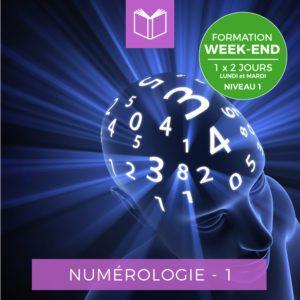 Centre Eden Formation Numérologie Week-End Niveau 1