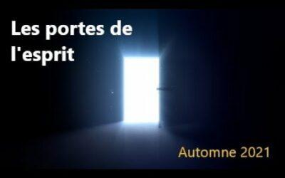 Les portes de l'esprit : un livre d'Olivier Bernard à paraître cet automne